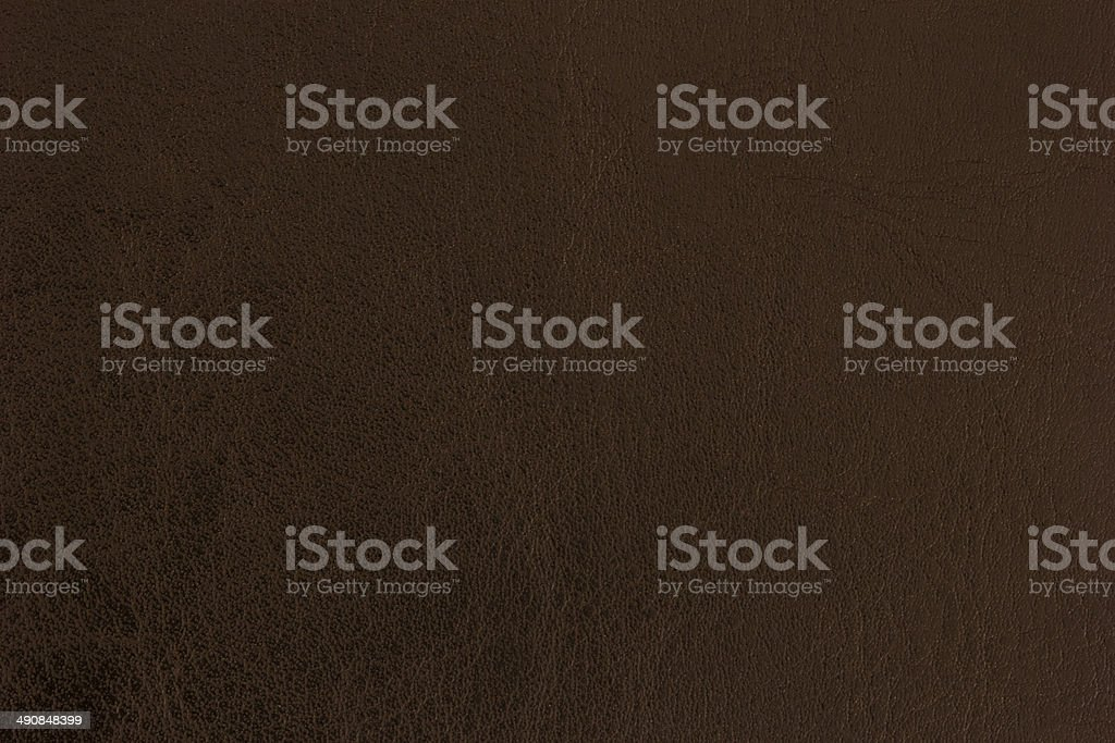 Brown Leather Background. stock photo
