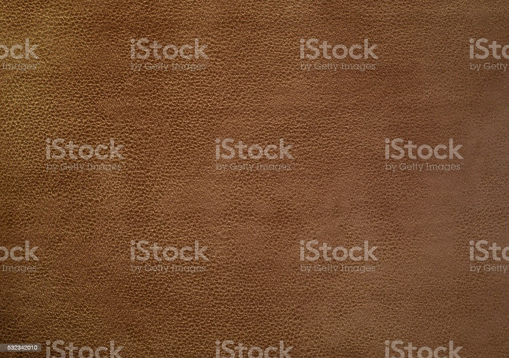 Brown leather chamois stock photo