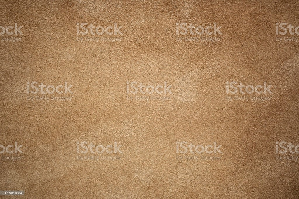 Brown leather chamois texture background stock photo