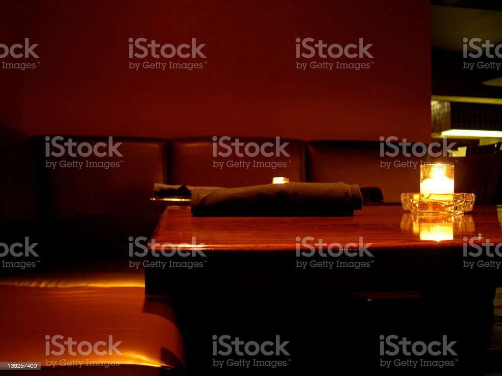 brown leather everything stock photo
