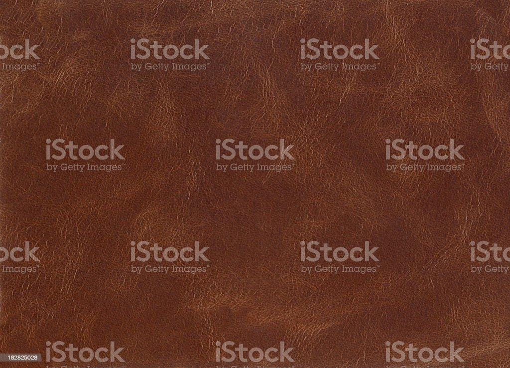 Brown leather. stock photo