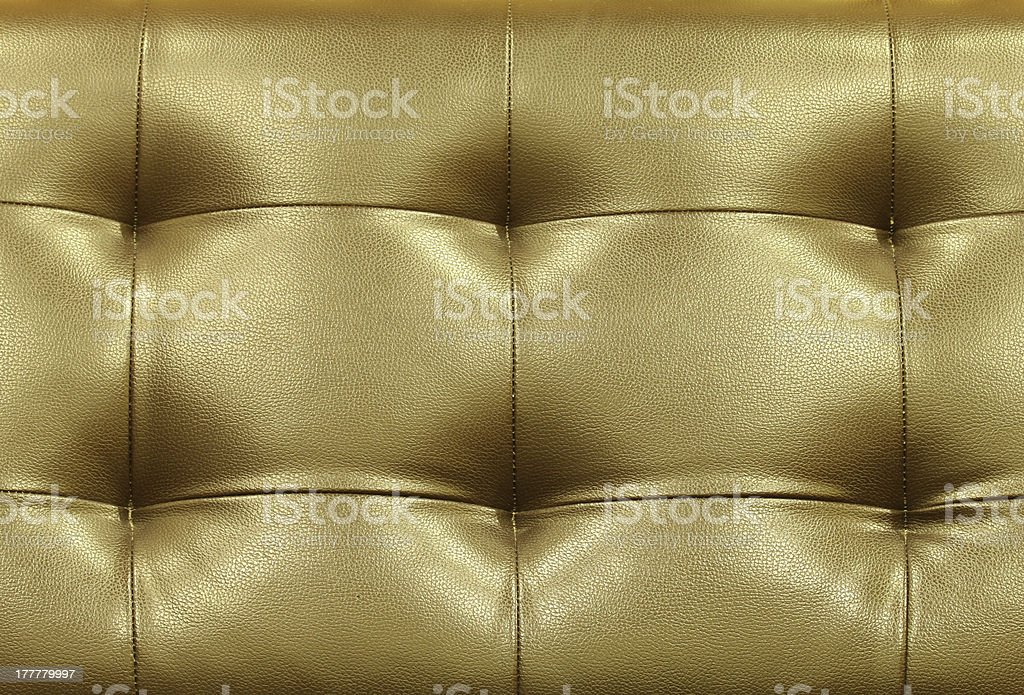 Brown leather sofa surface. royalty-free stock photo