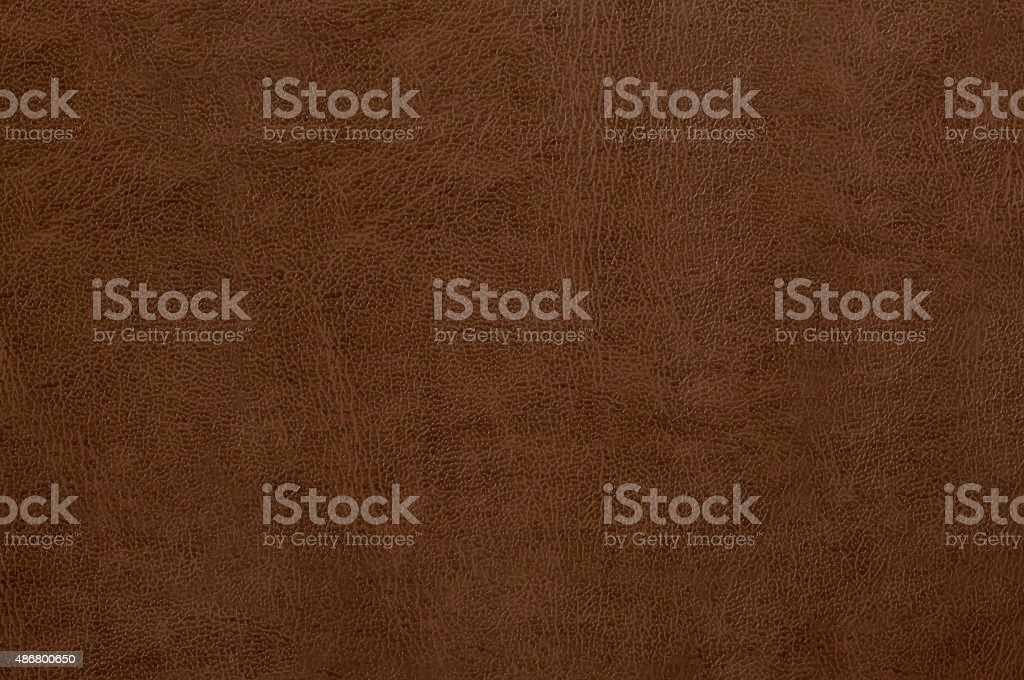 Brown leather texture as background stock photo