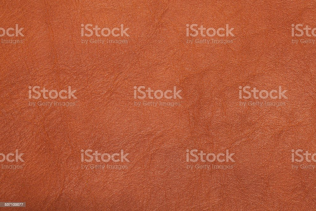 Brown leather texture as vintage background. stock photo