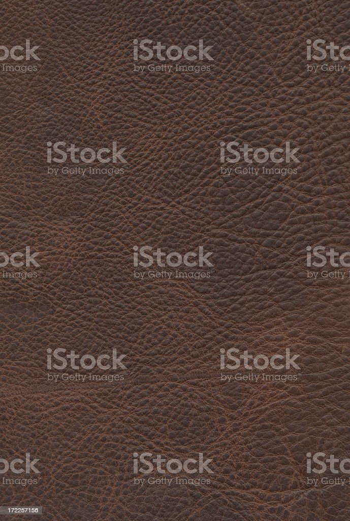Brown Leather Texture Journal Cover 3 royalty-free stock photo