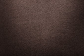 Brown leather texture or leather background for design.