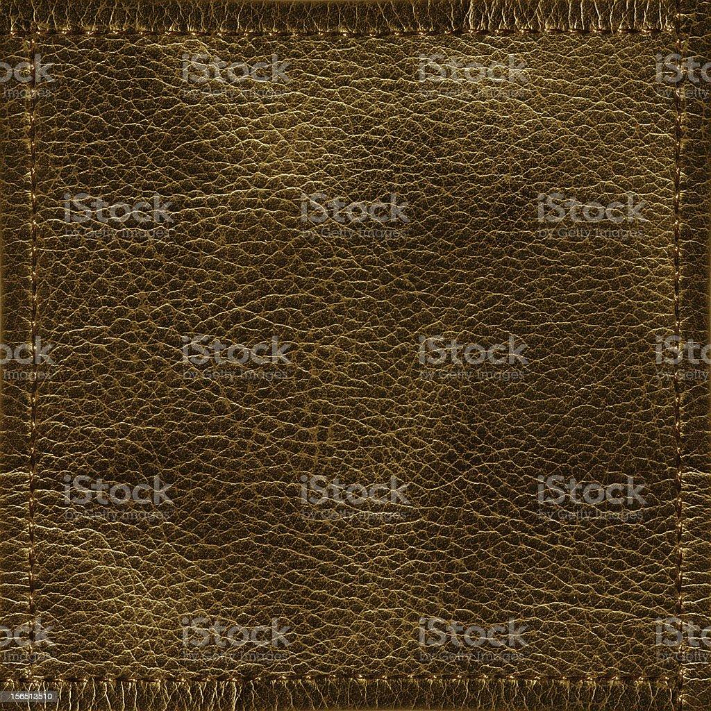 Brown Leather Texture (XXXL) royalty-free stock photo