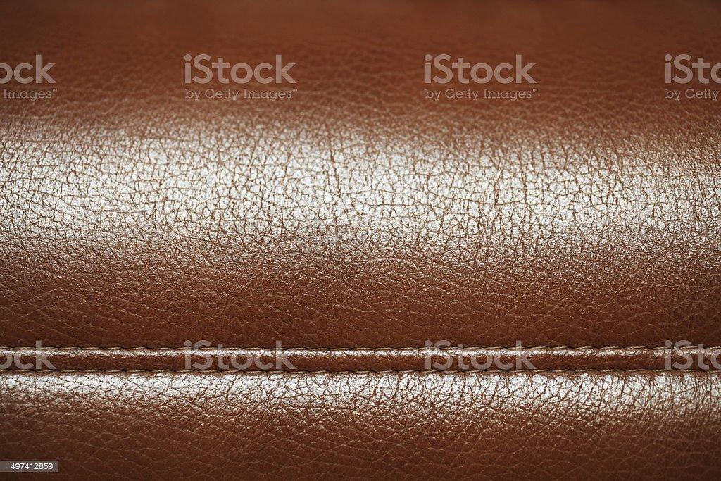 XXXL - Brown Leather Texture. stock photo