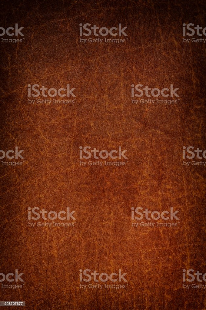 Brown leather textured background stock photo
