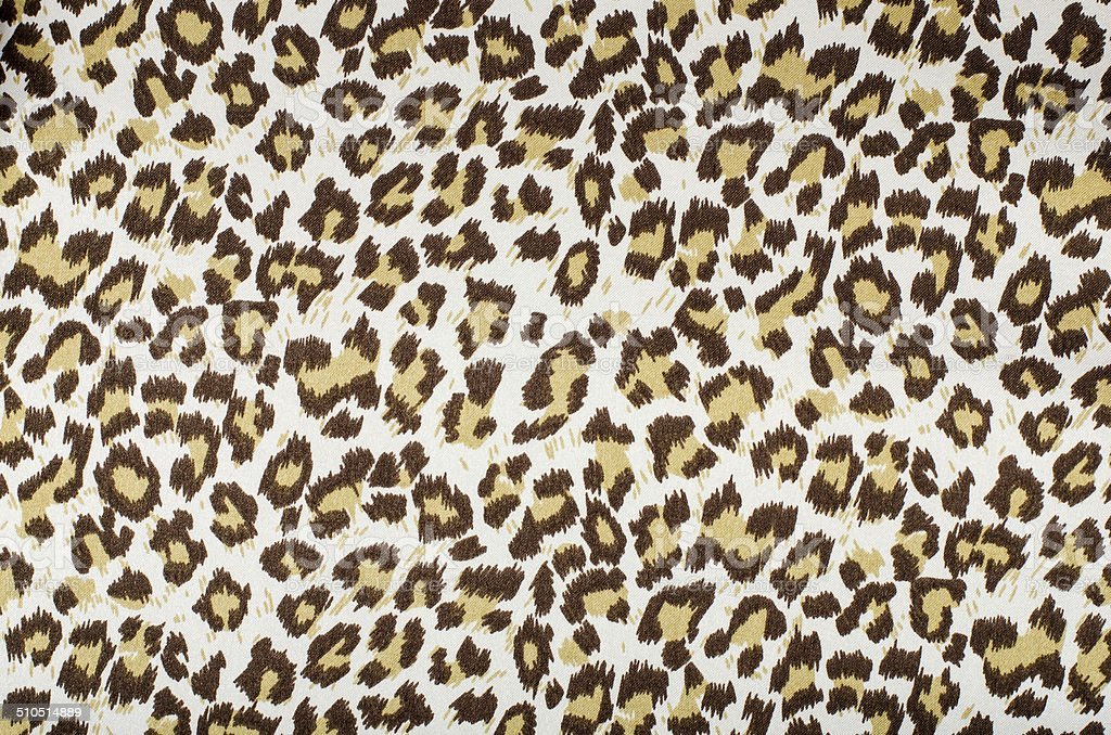 Brown leopard pattern. stock photo