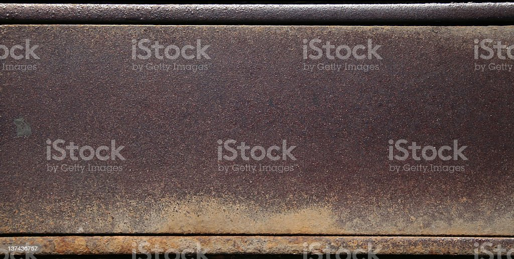 Brown metal stock photo