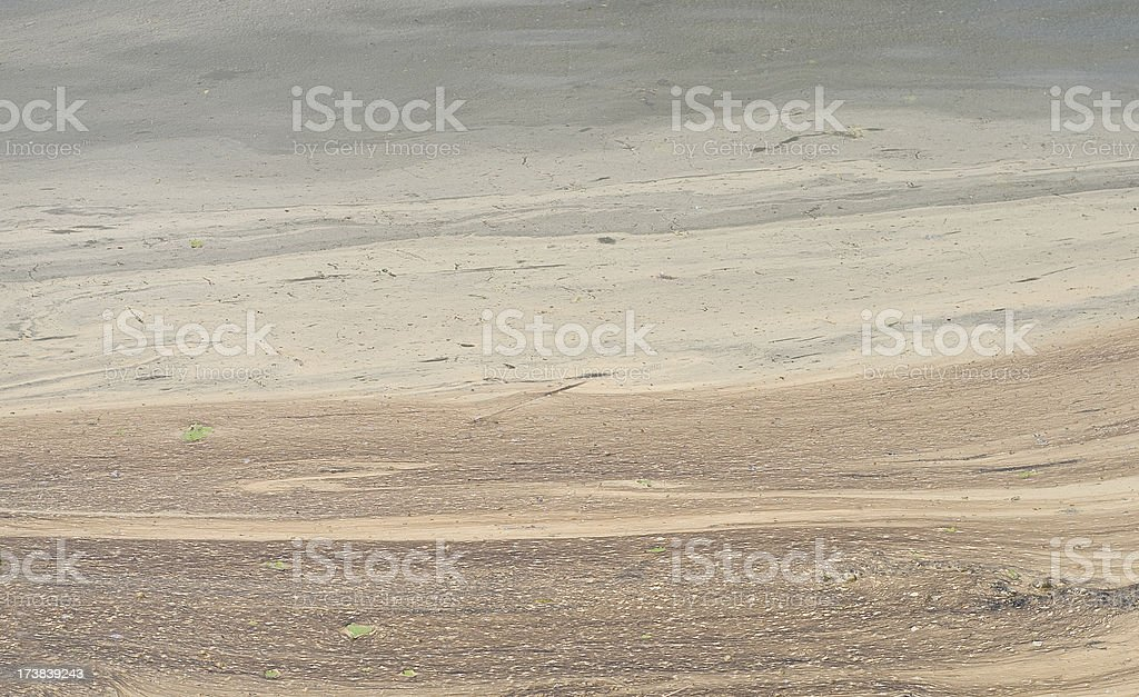 brown muddy water surface royalty-free stock photo