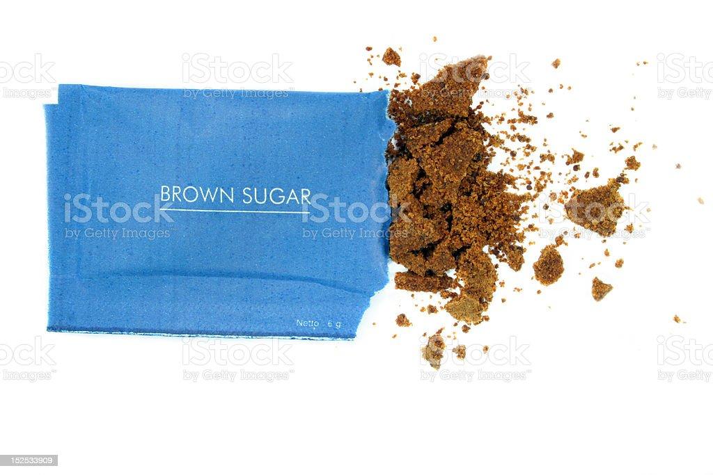 brown or palm sugar royalty-free stock photo