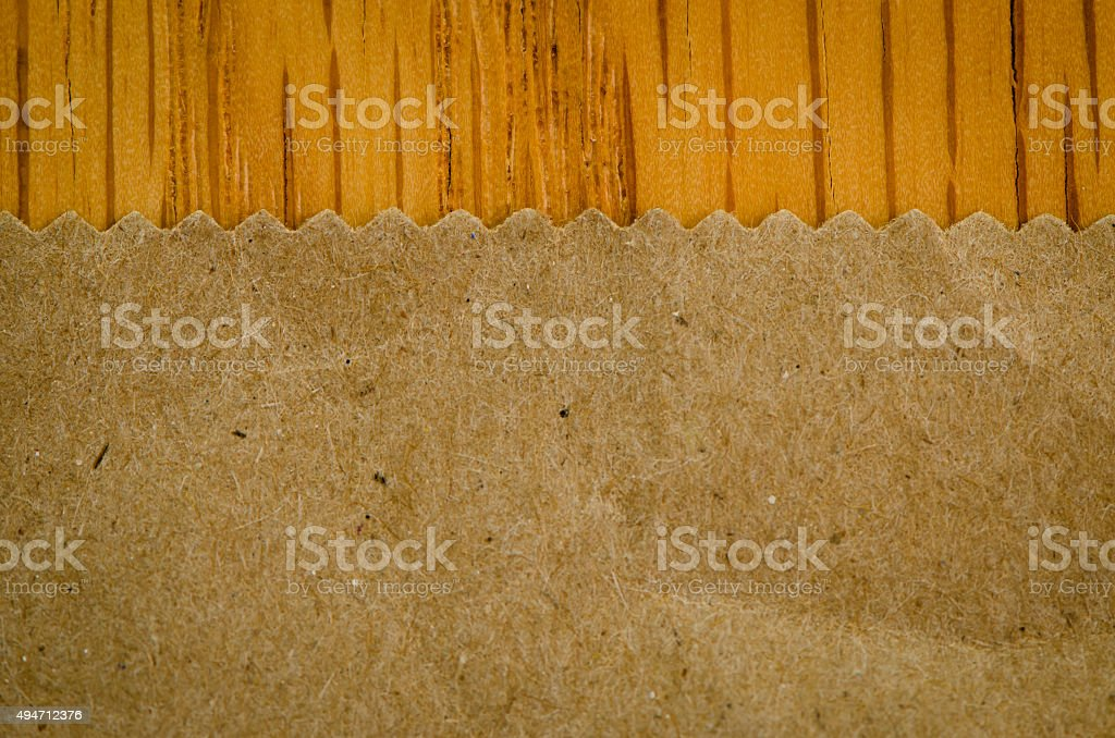 Brown Paper Bag Background stock photo