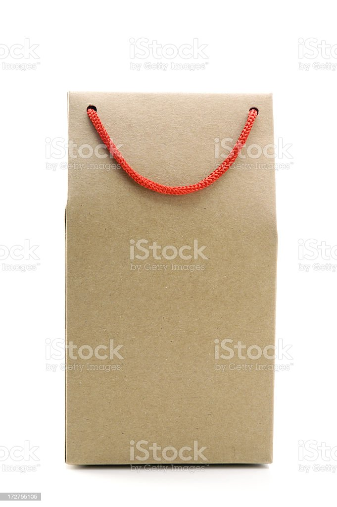 Brown Paper Bag royalty-free stock photo