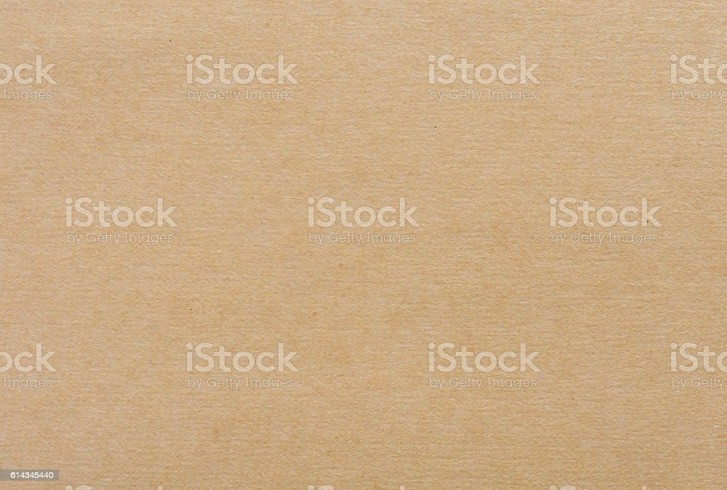 Brown paper cardboard  background stock photo