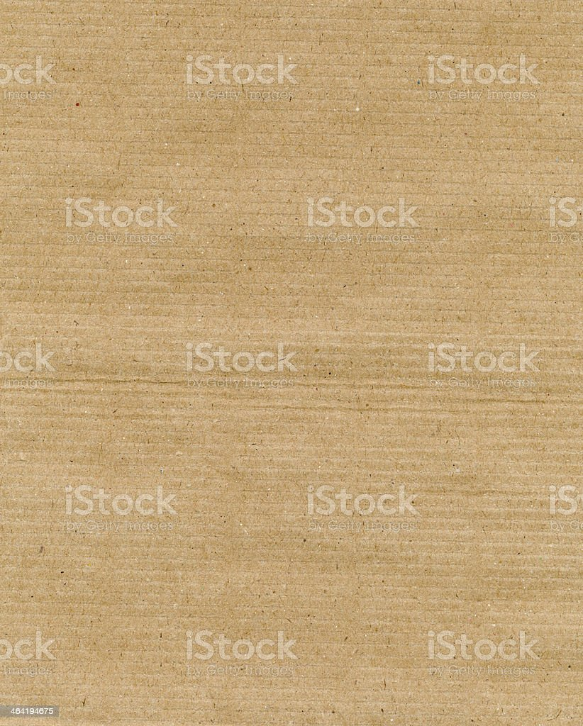 Brown paper made from recycled materials stock photo