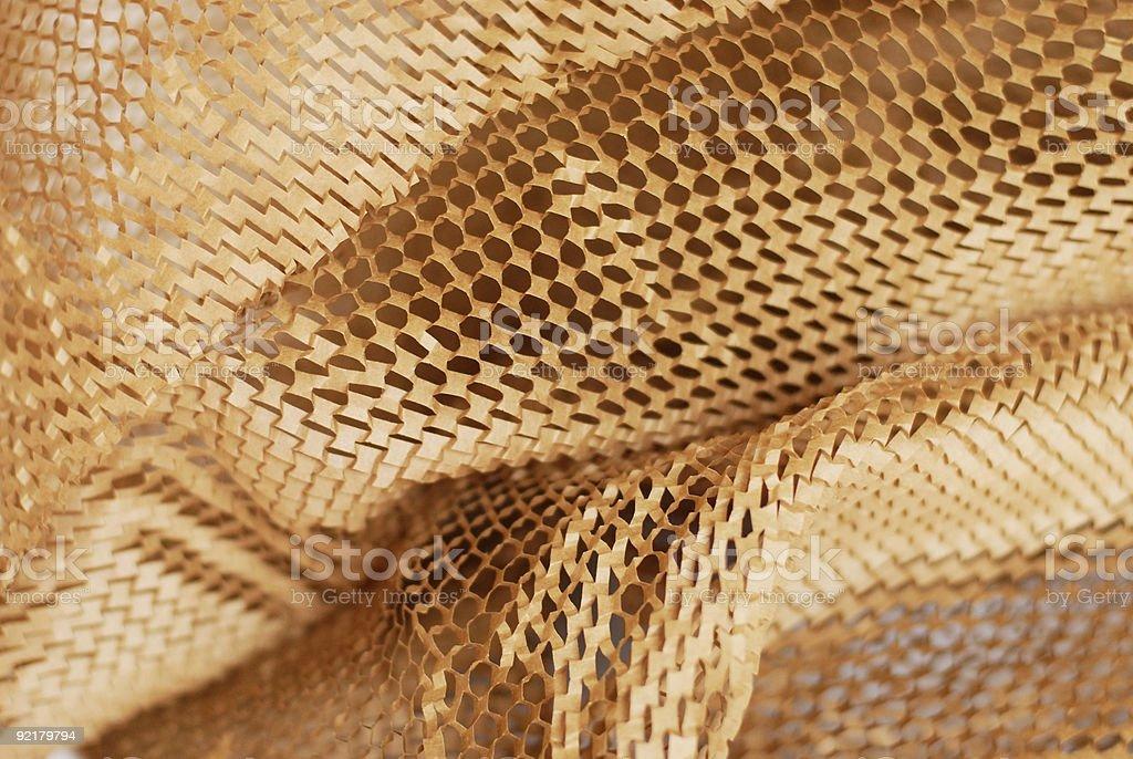 Brown paper mesh royalty-free stock photo