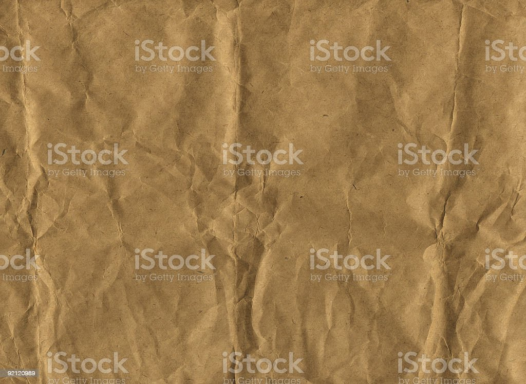 Brown Paper (XXL) royalty-free stock photo
