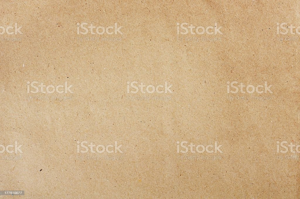 Brown paper texture stock photo