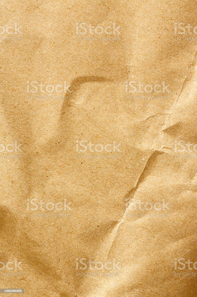 Brown Paper Texture. stock photo