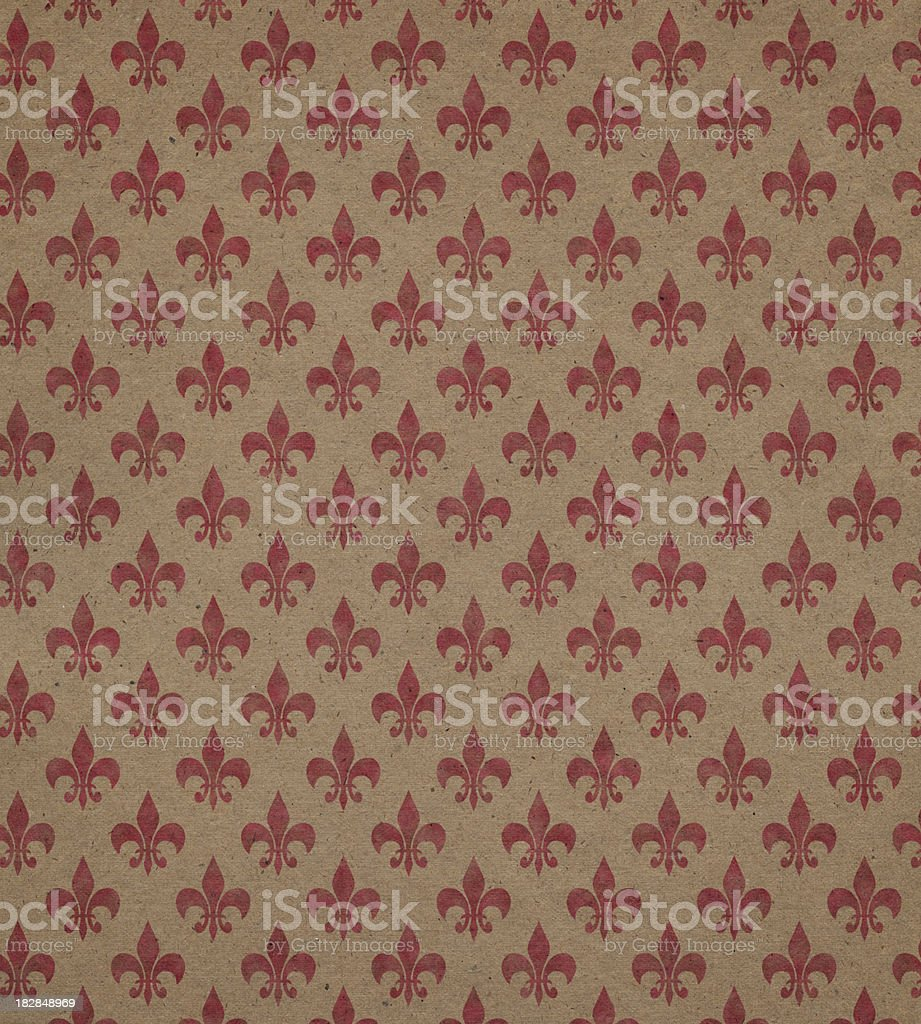 brown paper with symbol stock photo