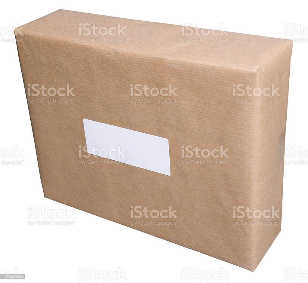 Brown Parcel stock photo