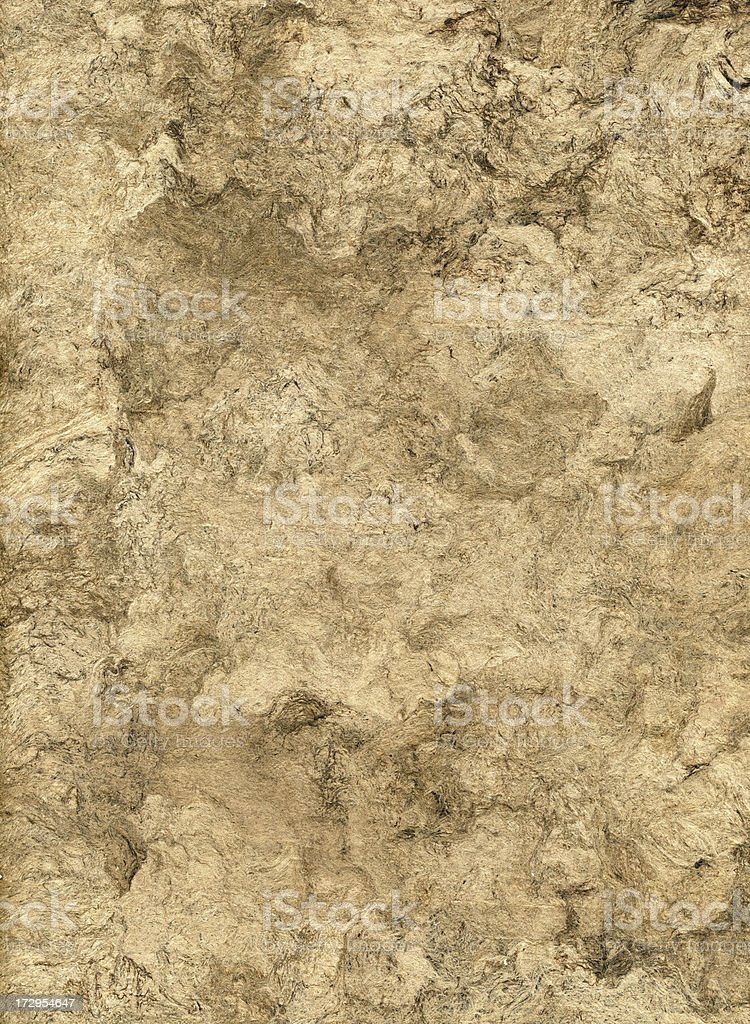 Brown Parchment Paper stock photo