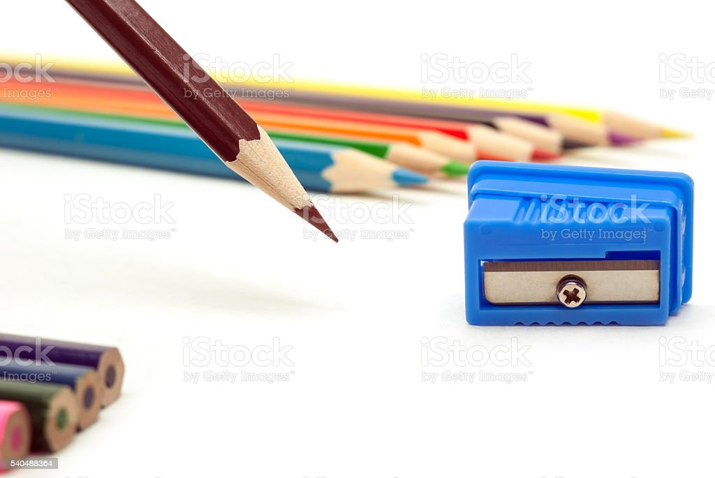 brown pencil royalty-free stock photo