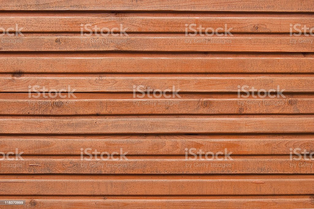 Brown planks of wooden wall texture background royalty-free stock photo