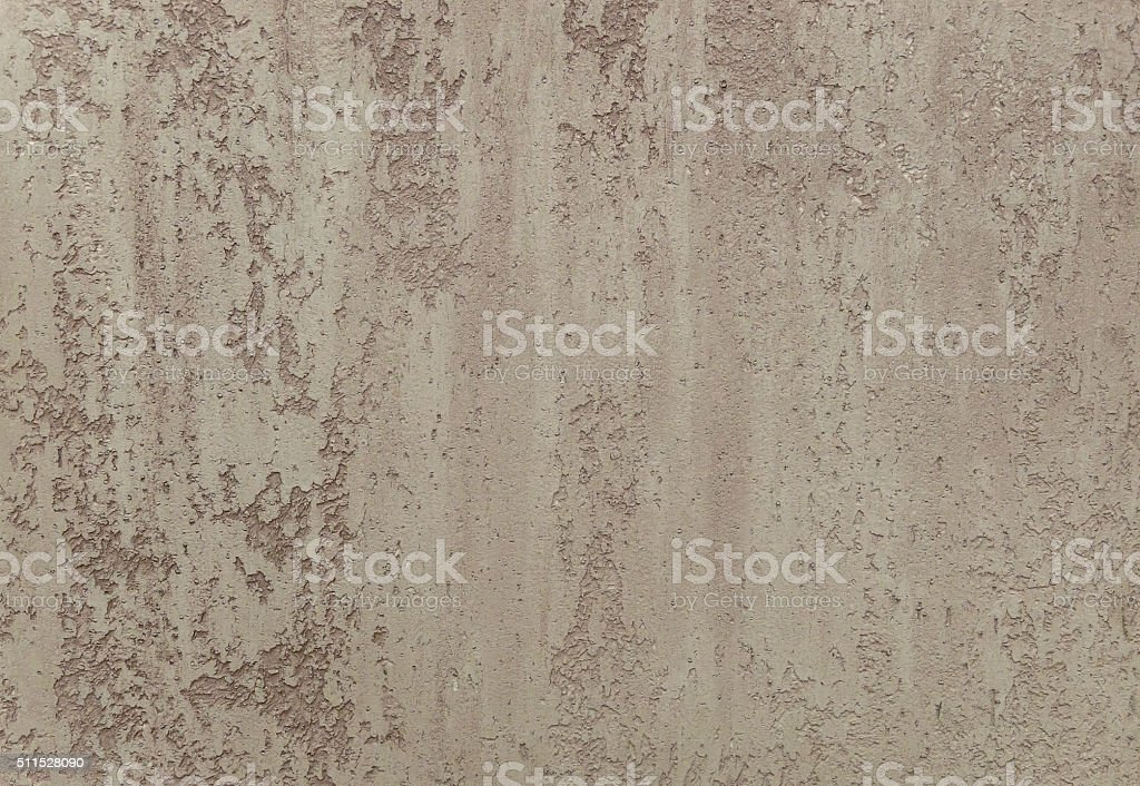 brown plastered wall as abstract background stock photo