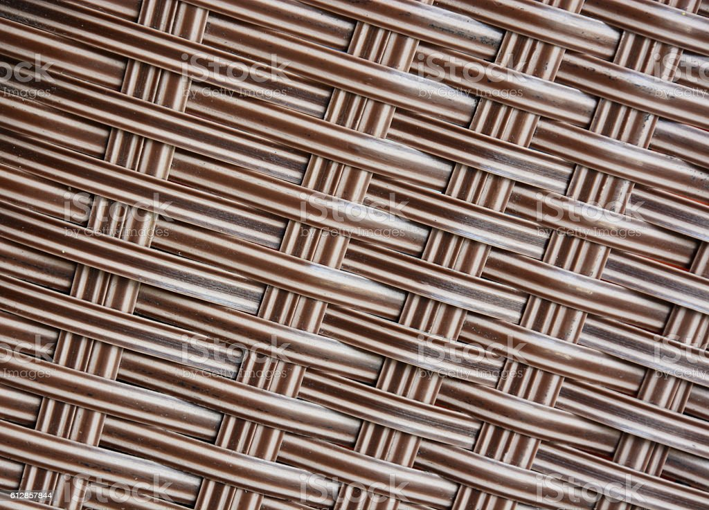 Brown rattan texture royalty-free stock photo