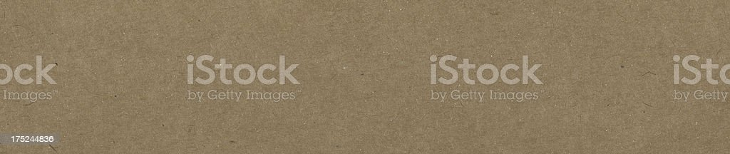 Brown Recycle paper--banner royalty-free stock photo