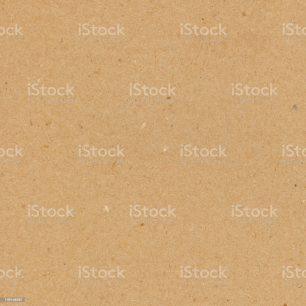 Brown recycled paper background stock photo
