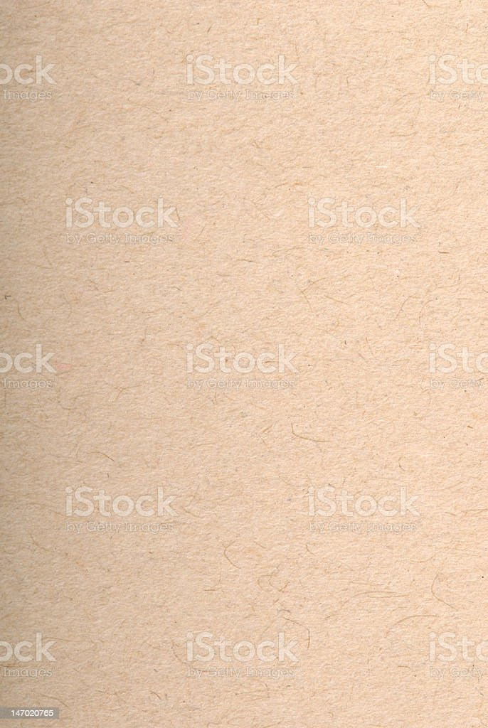 Brown recycled paper stock photo