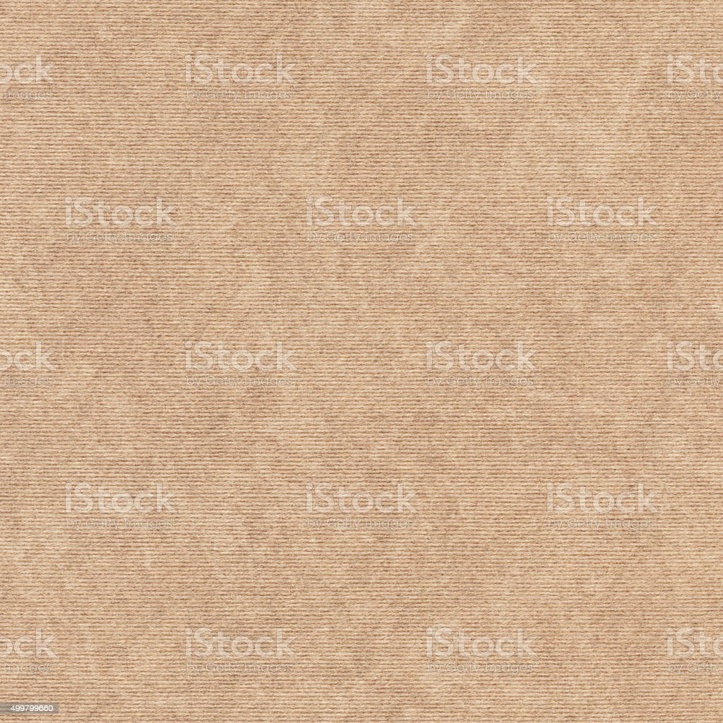 Brown Recycled Wrapping Paper Coarse Mottled Grunge Texture stock photo
