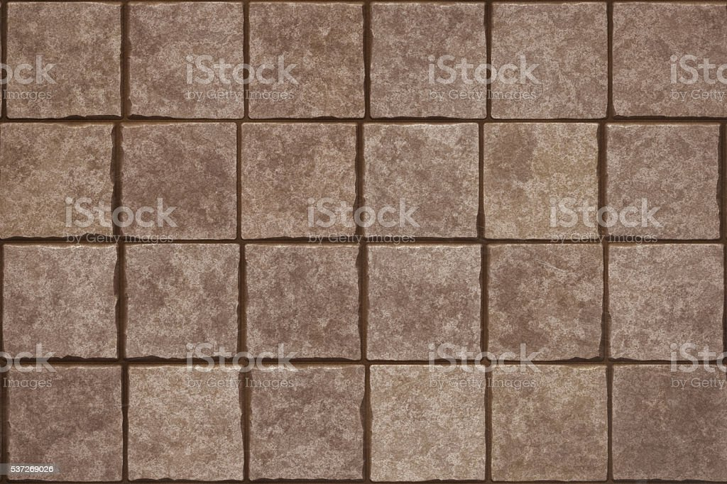 Brown Rock Stone Siding stock photo