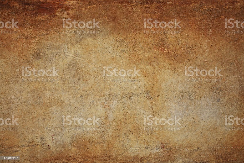 Brown Roman grunge wall texture background, Rome Italy stock photo