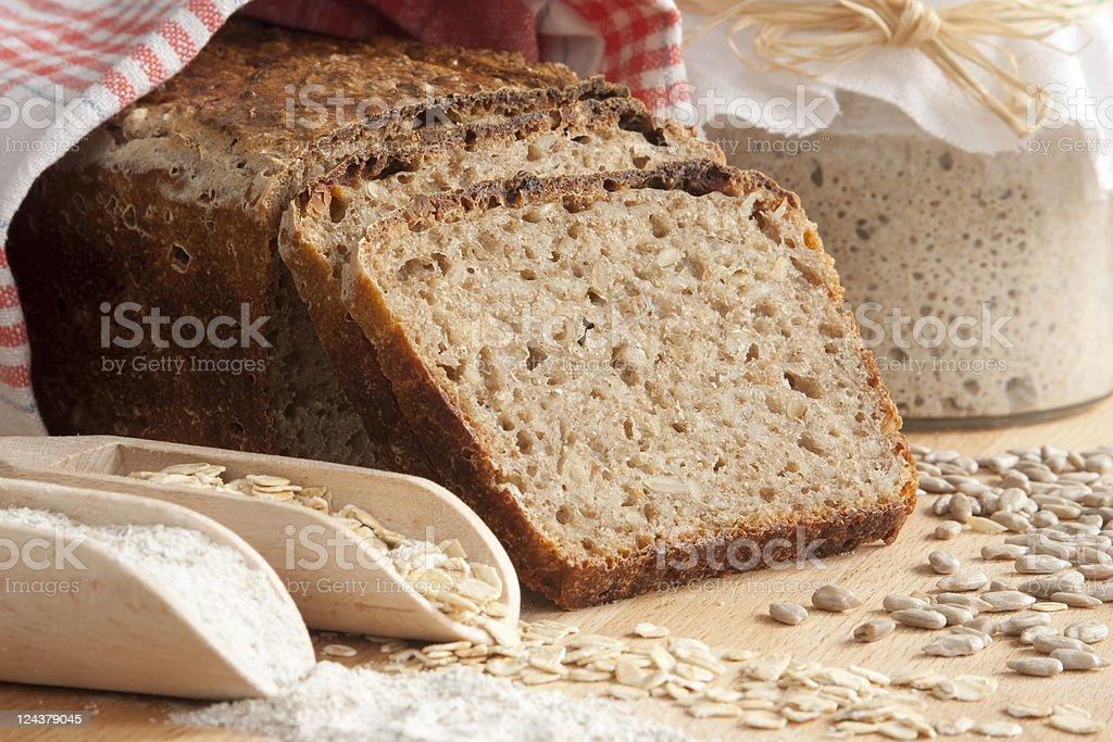 brown rye bread royalty-free stock photo