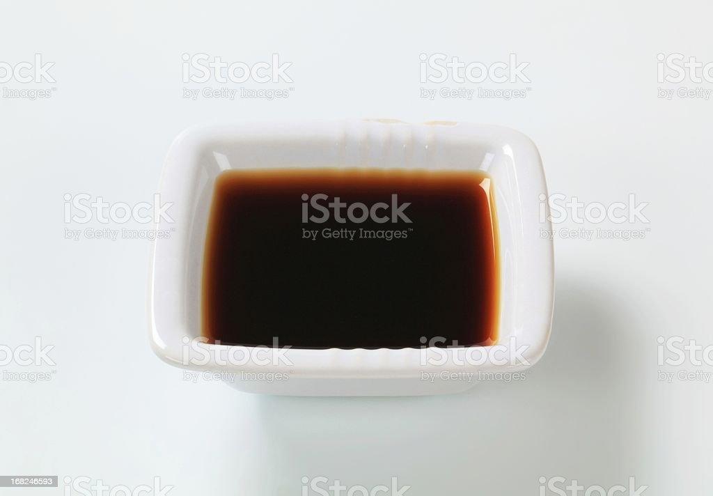 brown sauce royalty-free stock photo