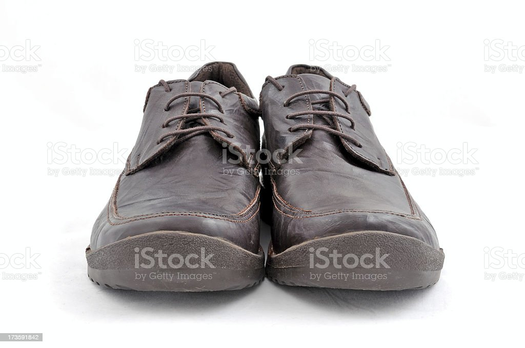 Brown Shoe royalty-free stock photo