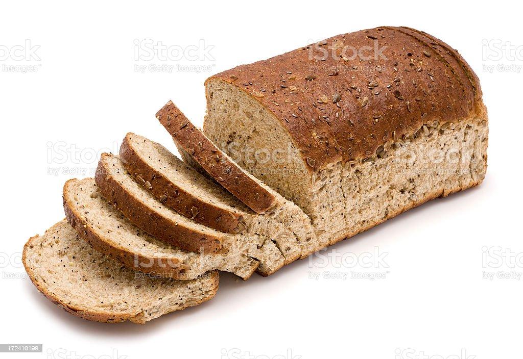 Brown Sliced Bread stock photo