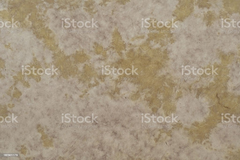 Brown Spotted Paper stock photo