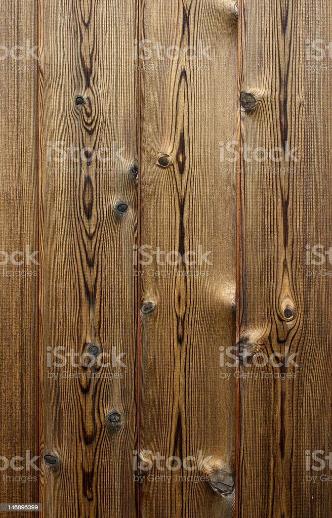 brown stained planks of wood royalty-free stock photo