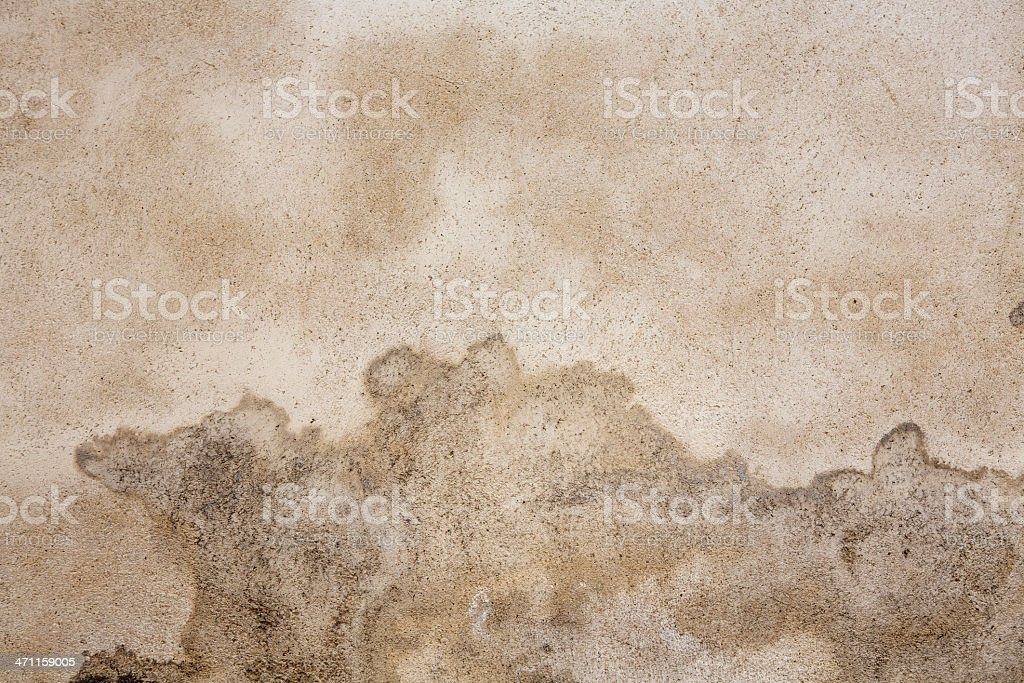 Brown stained wall as background, Paris royalty-free stock photo