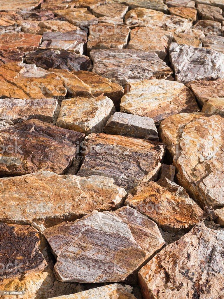 brown stone stock photo