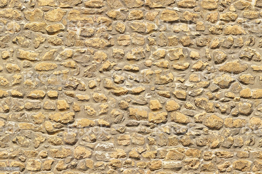 Brown stone wall endless seamless pattern royalty-free stock photo