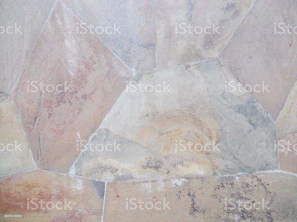 MARRON mur de pierre photo libre de droits