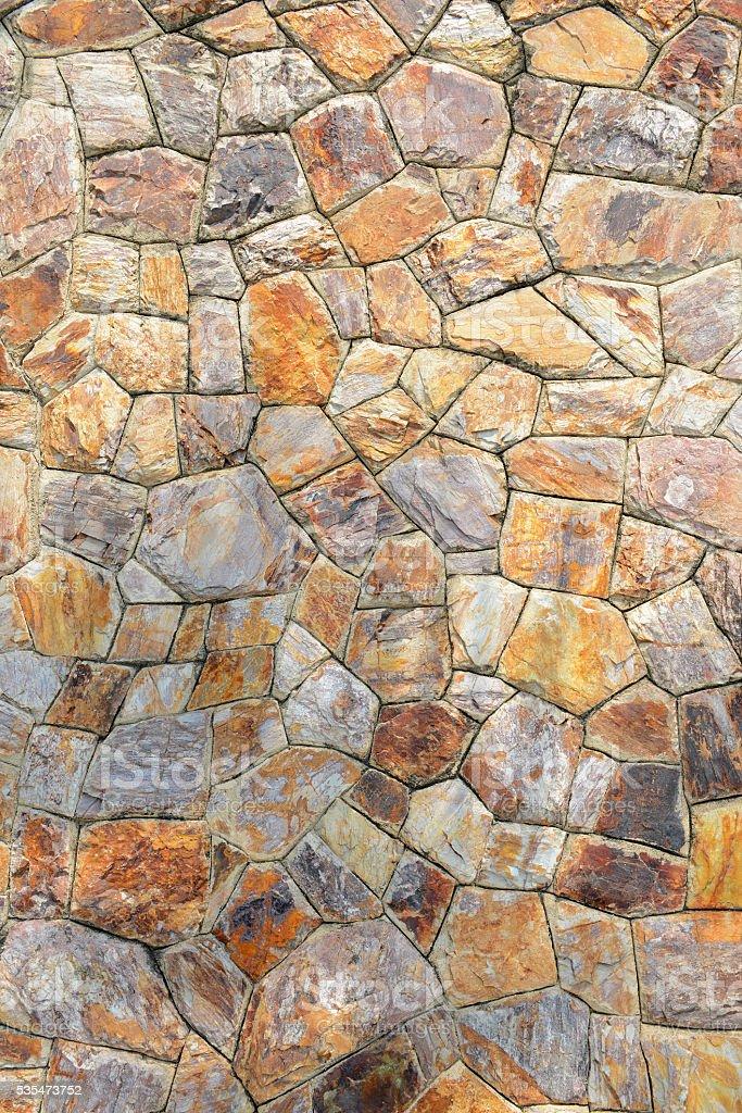 Brown stone wall stock photo