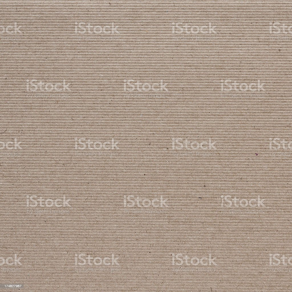 Brown striped paper texture stock photo